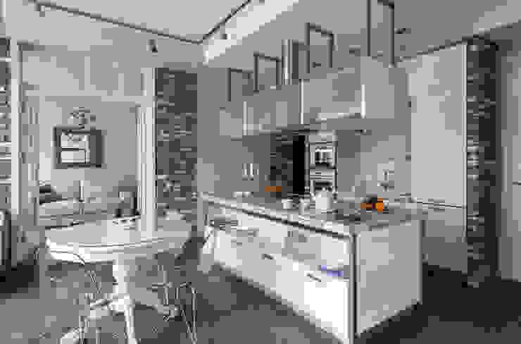 Irina Derbeneva Cocinas de estilo industrial