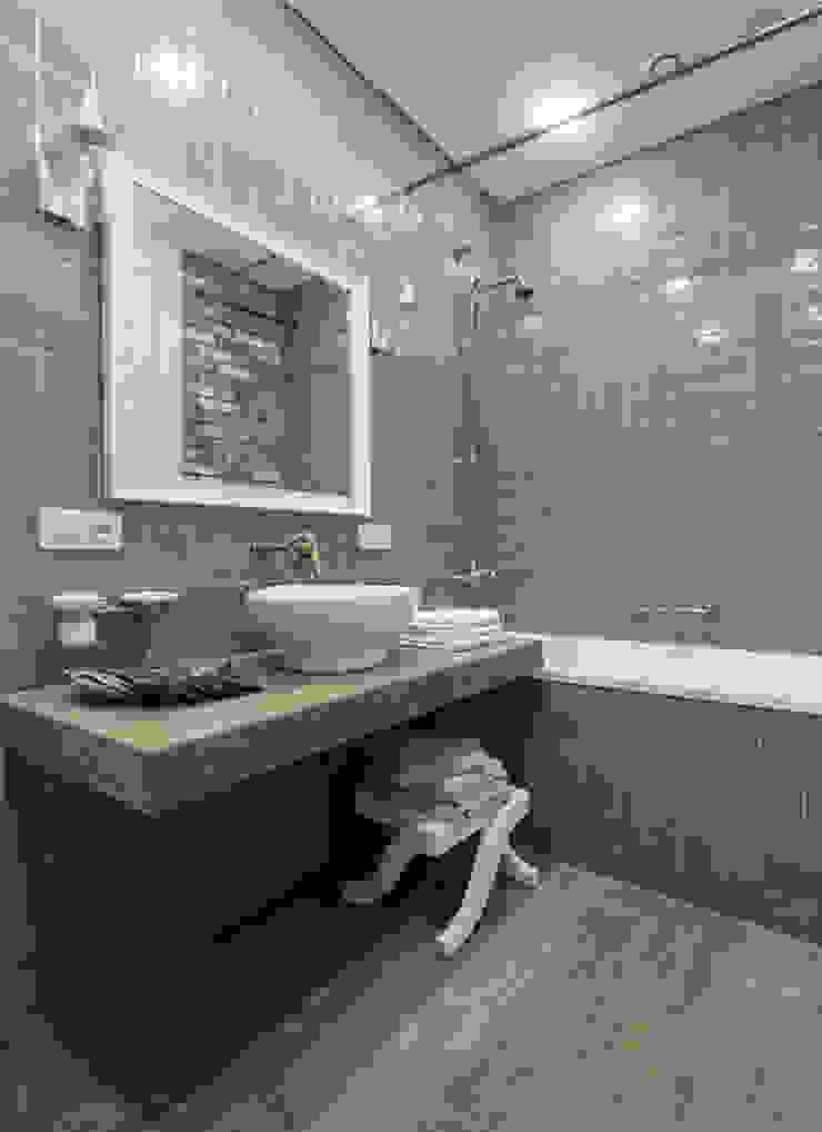 Irina Derbeneva Industrial style bathroom