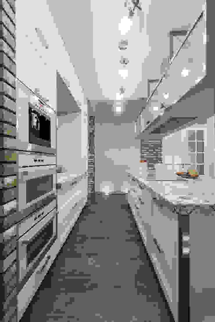 Irina Derbeneva Industrial style kitchen