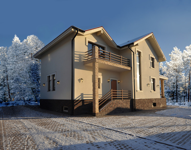 Irina Derbeneva Maisons minimalistes