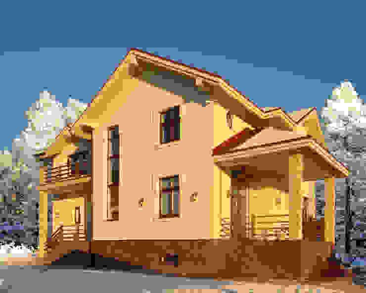 Cinnamon - солнечный минимализм Irina Derbeneva Дома в стиле минимализм