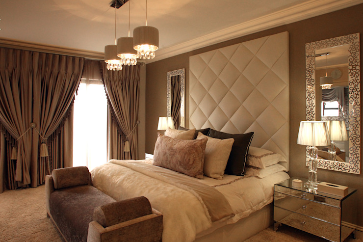 Guest Bedroom:  Bedroom by Tru Interiors,