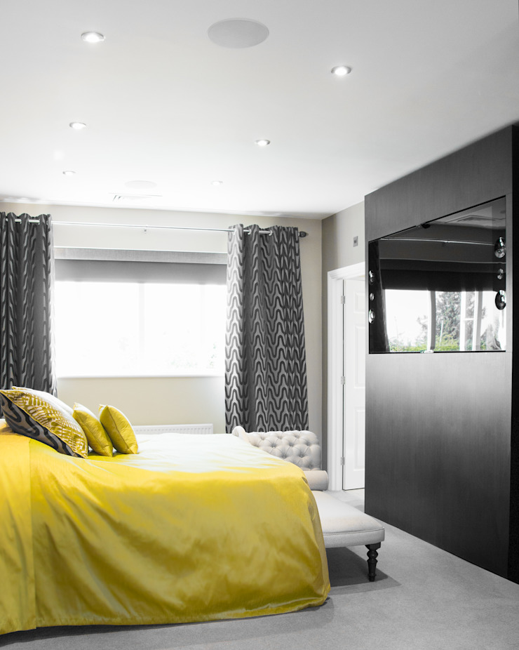 Integrated Home Reading Link It Solutions Ltd Modern Bedroom