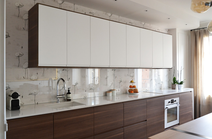 Kitchen by A comme Archi, Modern