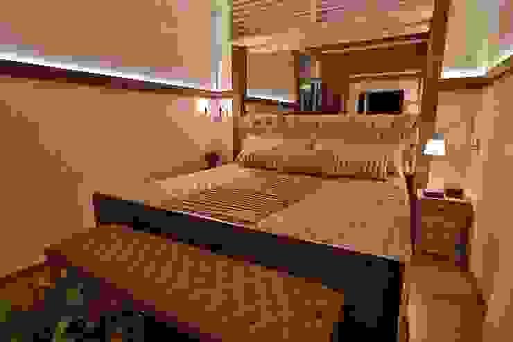 Dormitorios de estilo rústico de MAJÓ Arquitetura de Interiores Rústico