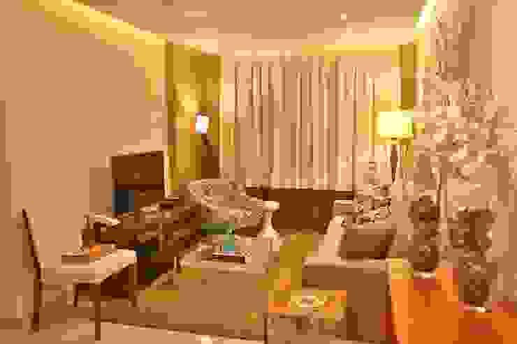 VÃO DESIGN Salas de estar modernas por MAJÓ Arquitetura de Interiores Moderno