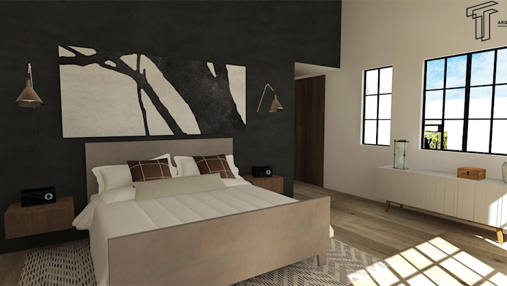 A Modern Bedroom by TAMEN arquitectura Modern