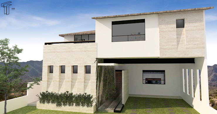 Modern houses by TAMEN arquitectura Modern
