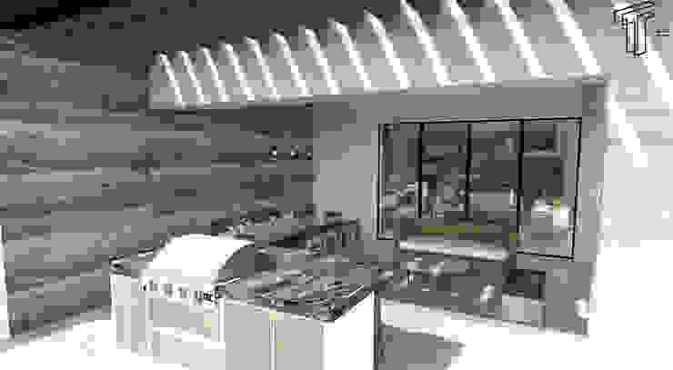 TAMEN arquitectura Balcones y terrazas modernos