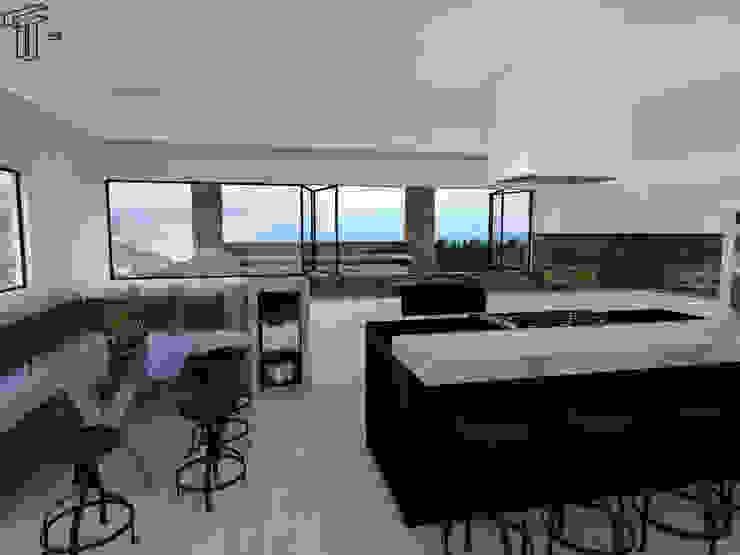 CO Modern Kitchen by TAMEN arquitectura Modern