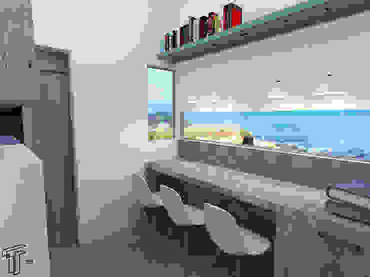 Estudios y despachos modernos de TAMEN arquitectura Moderno