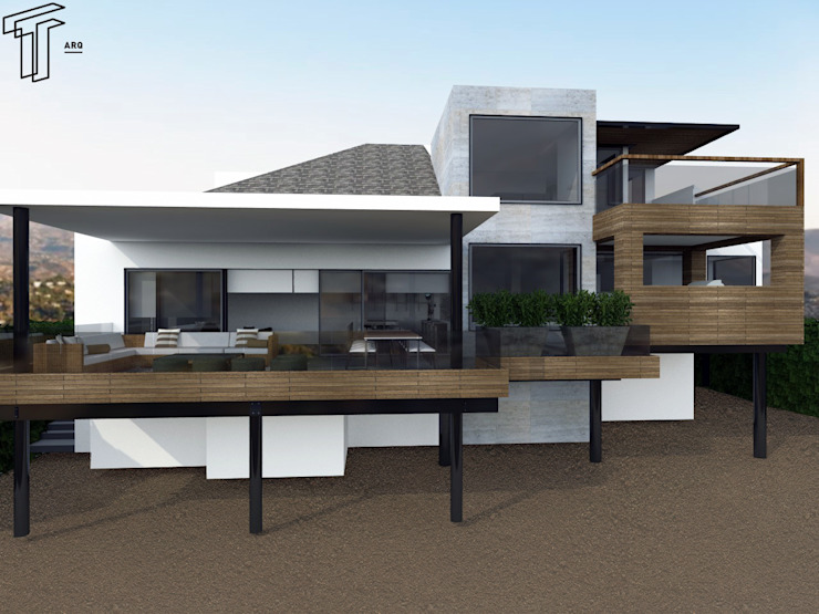 CO Modern Houses by TAMEN arquitectura Modern