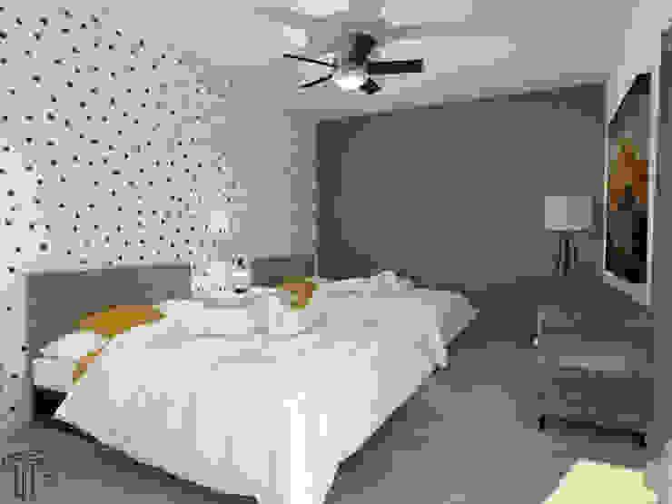 Bedroom by TAMEN arquitectura, Modern