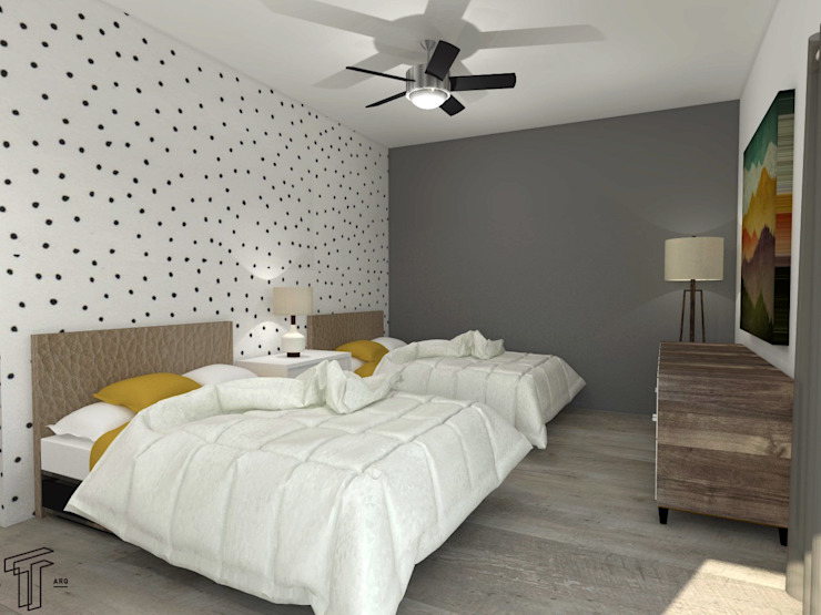 CO Modern Bedroom by TAMEN arquitectura Modern