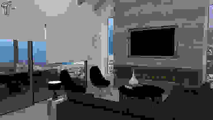 CO Modern Living Room by TAMEN arquitectura Modern