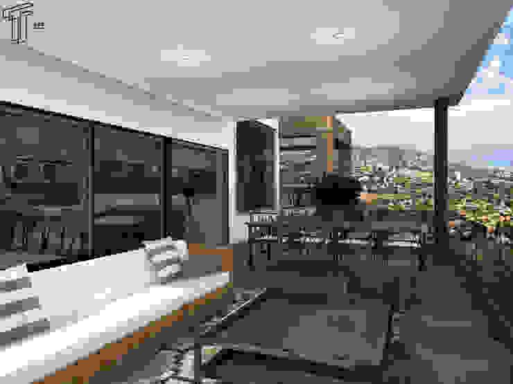 CO Modern Terrace by TAMEN arquitectura Modern