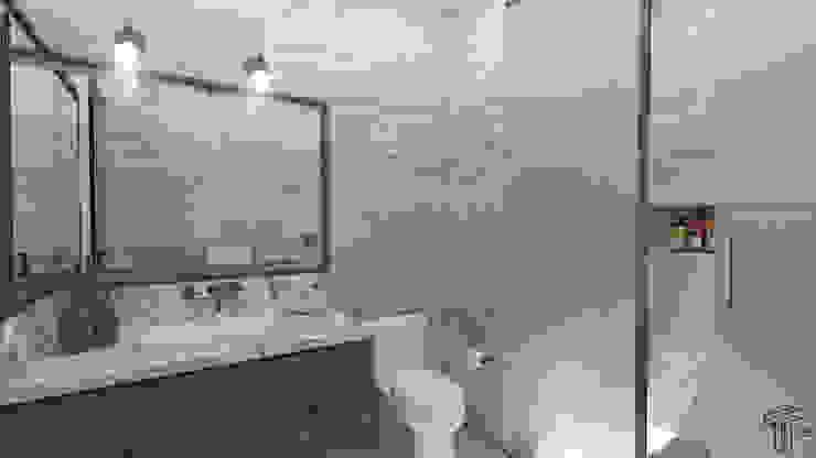 TAMEN arquitectura Modern style bathrooms