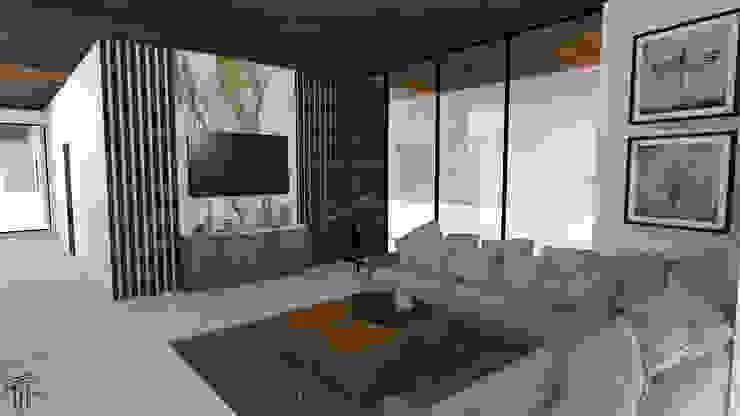 TAMEN arquitectura ห้องนั่งเล่น
