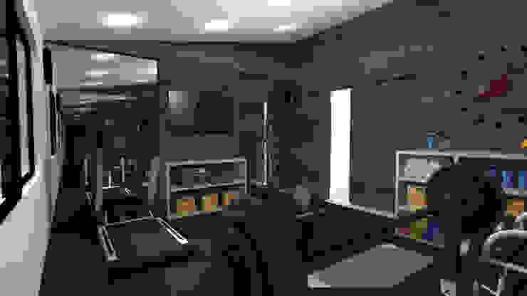 TAMEN arquitectura Modern gym