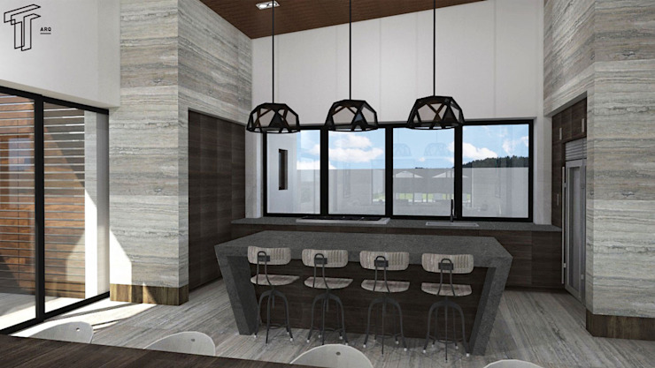 TAMEN arquitectura Modern dining room