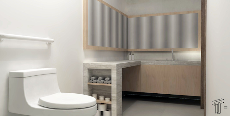 TAMEN arquitectura ห้องน้ำ