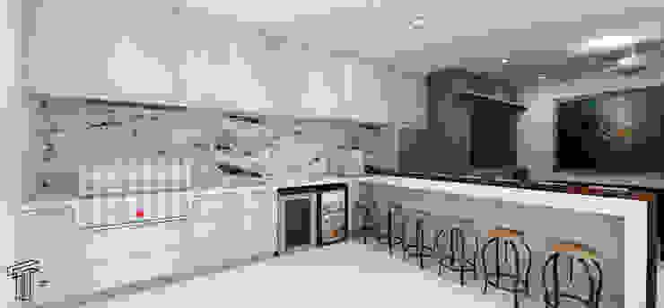 Cocinas de estilo moderno de TAMEN arquitectura Moderno