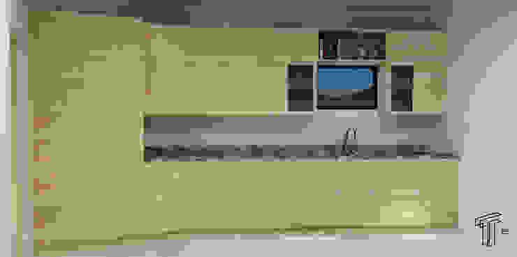 TAMEN arquitectura ห้องครัว