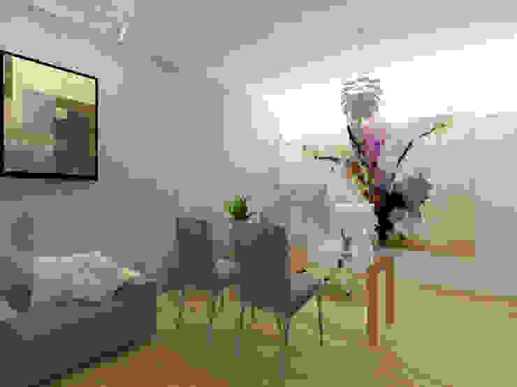 Despacho Estudios y despachos modernos de Arqternativa Moderno Derivados de madera Transparente