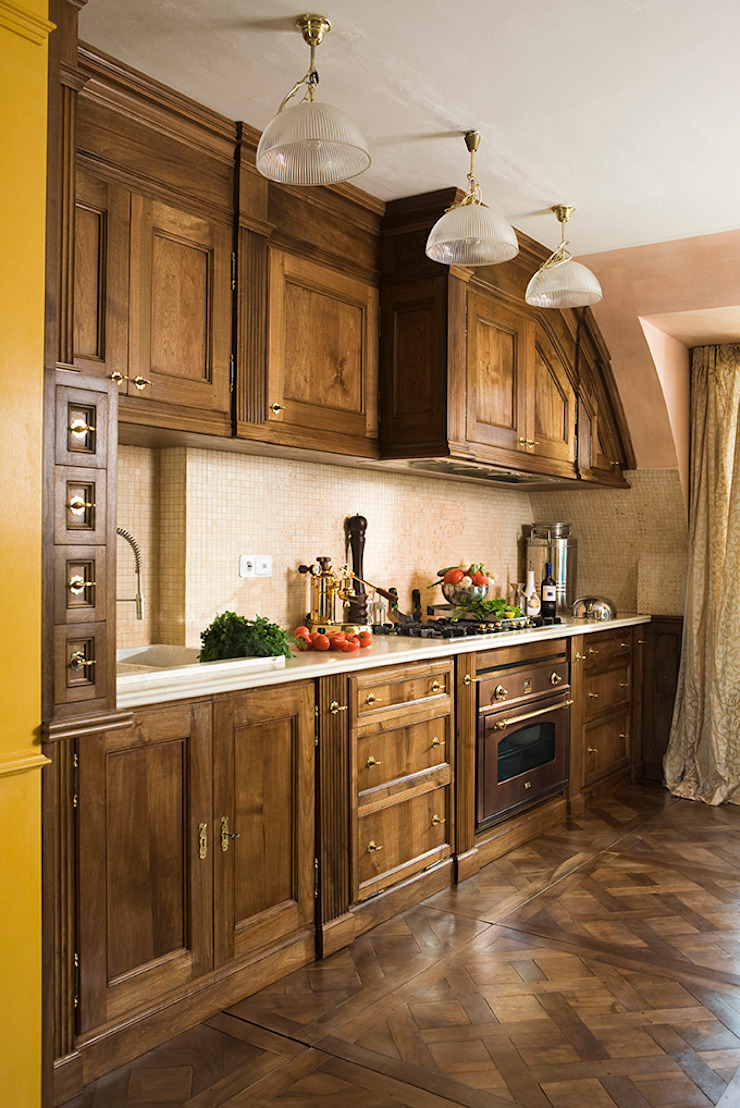 The Wood Alchemist - Simone Castelli Kitchen