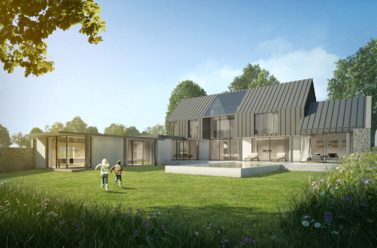 New Build Family Home in Surrey ArchitectureLIVE