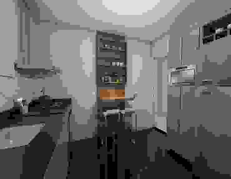 Modern kitchen by Nayla Diniz Arquitetura Modern