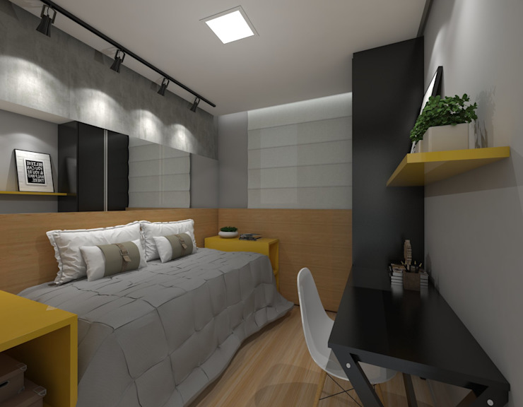 Modern nursery/kids room by Nayla Diniz Arquitetura Modern