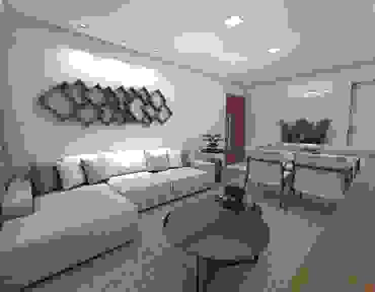 Modern living room by Nayla Diniz Arquitetura Modern