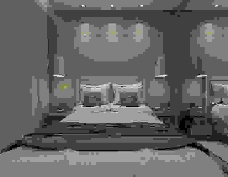 Modern style bedroom by Nayla Diniz Arquitetura Modern