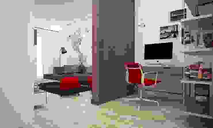 Коридор и прихожая в . Автор – LAB16 architettura&design, Лофт