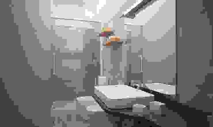 Ванные комнаты в . Автор – LAB16 architettura&design, Лофт