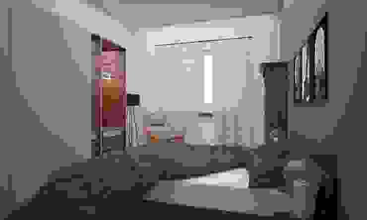Dormitorios de estilo industrial de LAB16 architettura&design Industrial