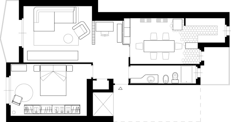 в . Автор – LAB16 architettura&design, Лофт