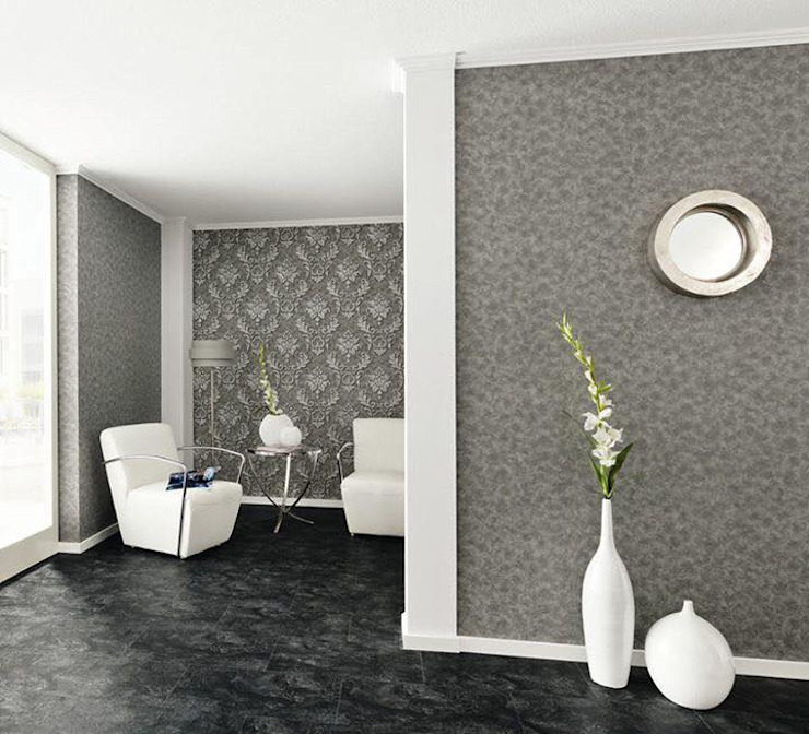 Paredes y pisos de estilo moderno de Concepto - Diseño y Decoración Moderno