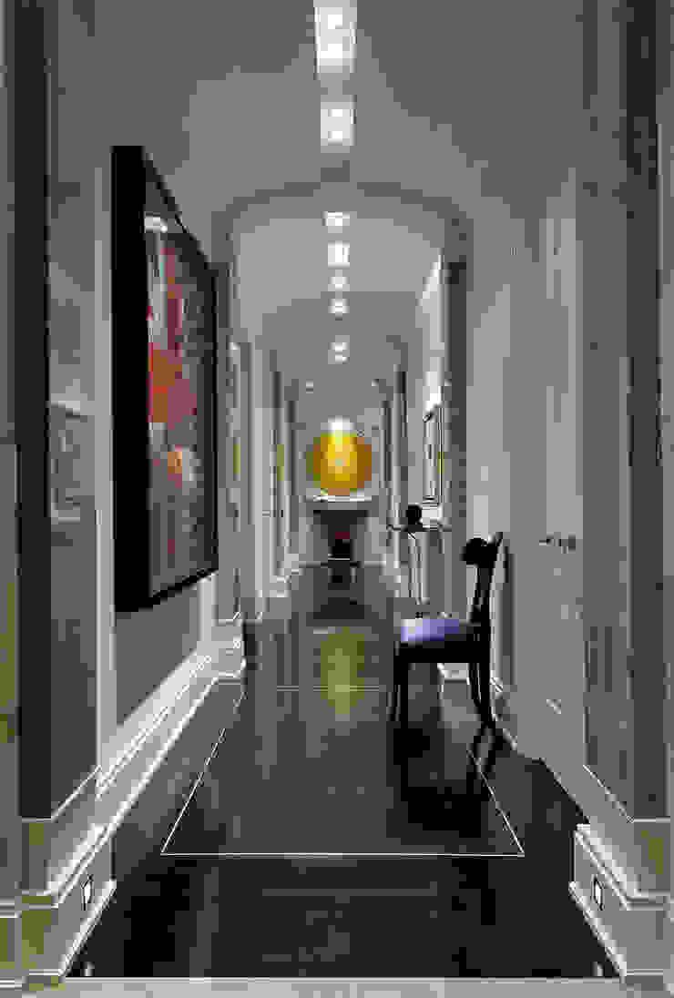 Hallway Douglas Design Studio Classic corridor, hallway & stairs