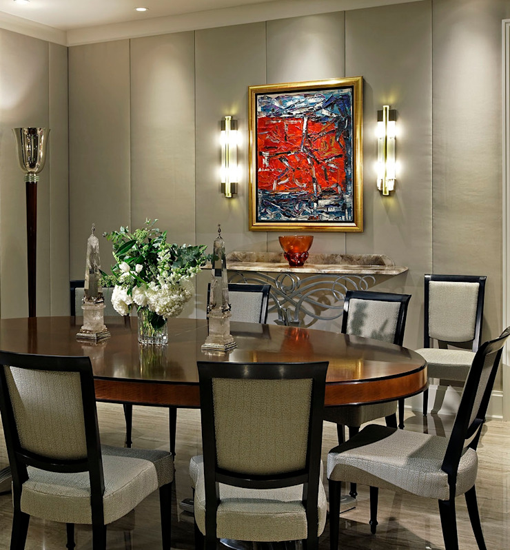 Dining Room by Douglas Design Studio Classic