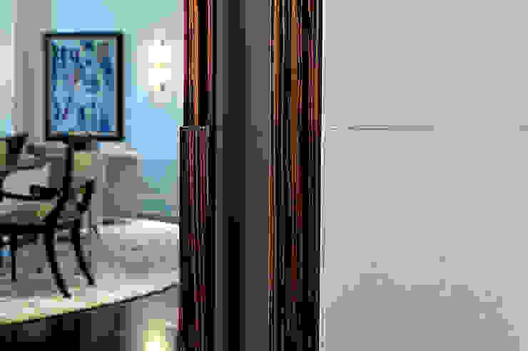 Trim Detail Douglas Design Studio Classic corridor, hallway & stairs
