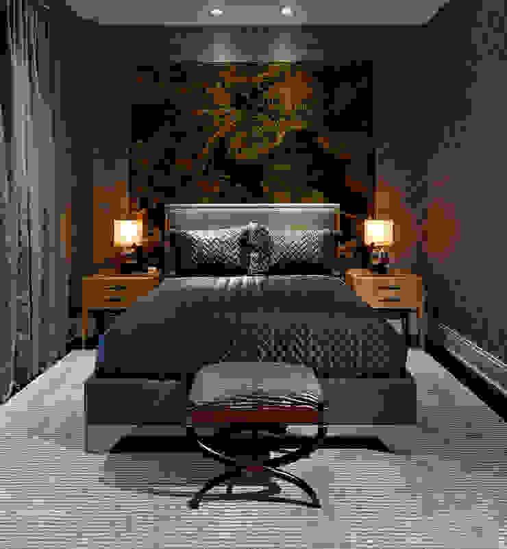 Bedroom Douglas Design Studio Classic style bedroom