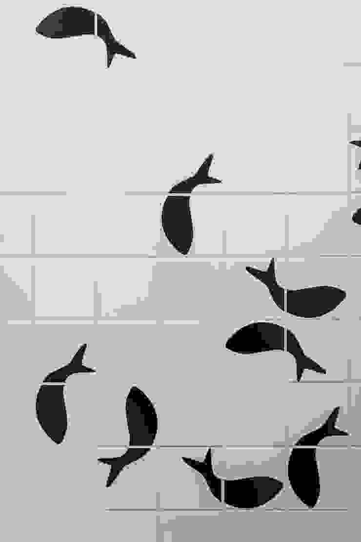 Modern Bathroom by PLUS ULTRA studio Modern Tiles