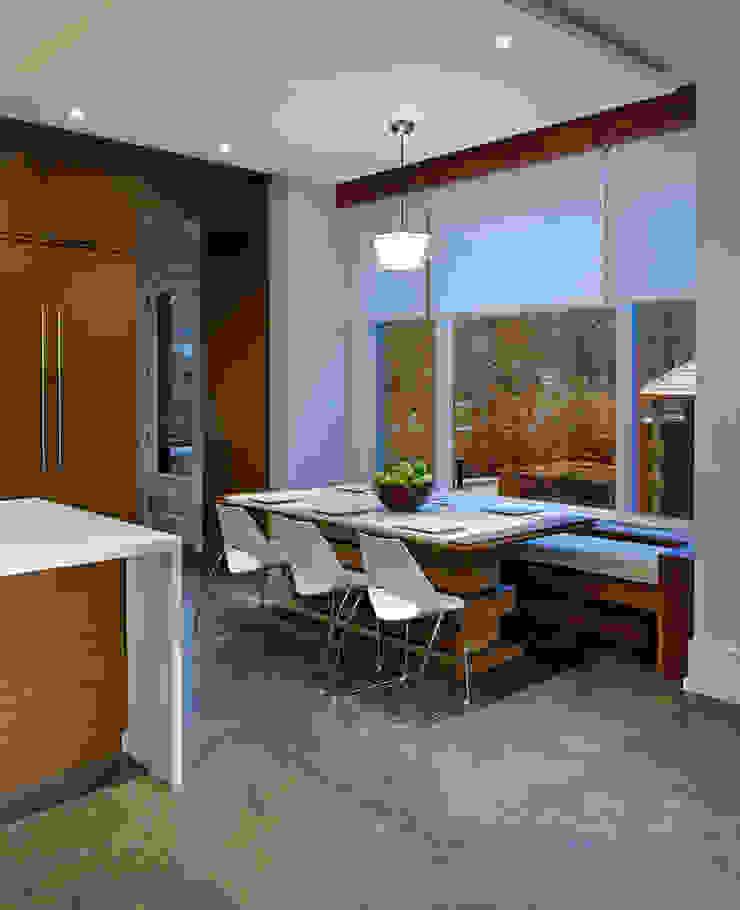 Breakfast Area Modern kitchen by Douglas Design Studio Modern