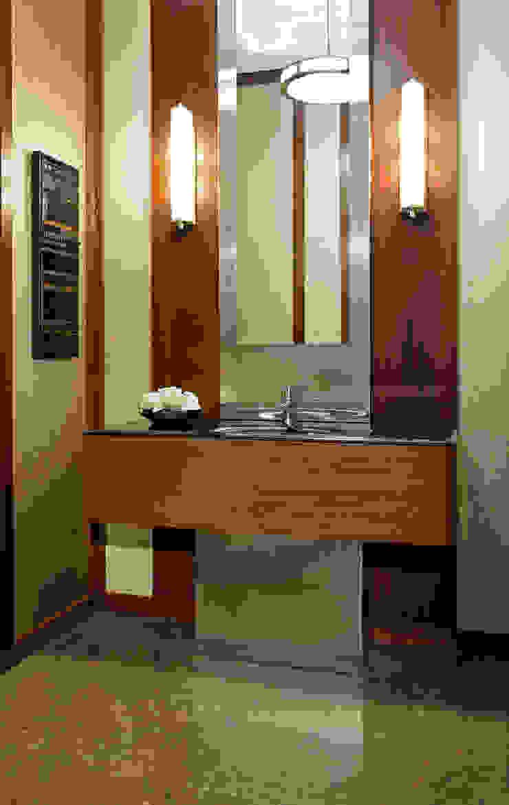 Powder Room Modern bathroom by Douglas Design Studio Modern
