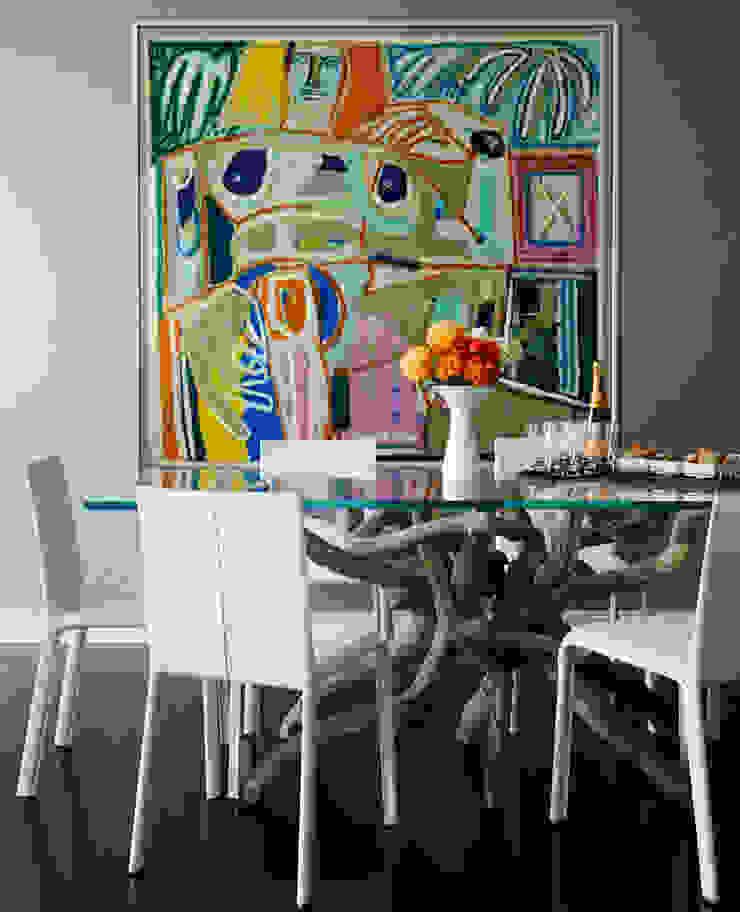 Douglas Design Studio Comedores de estilo moderno Multicolor