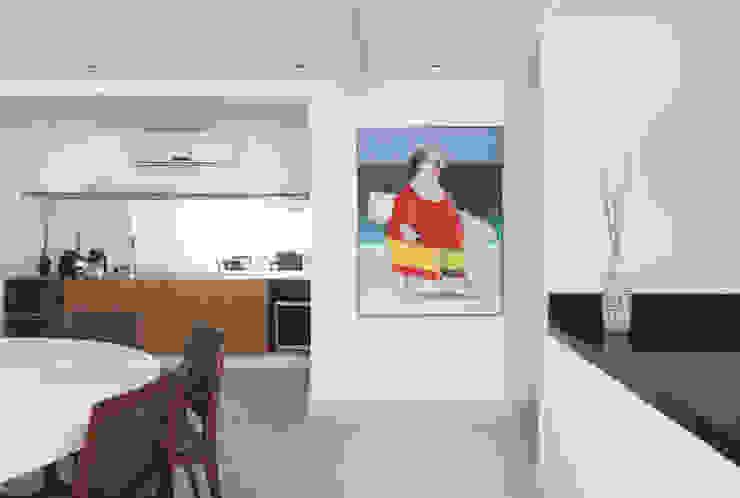 Detalhe sala de jantar Casas modernas por RAWI Arquitetura + Design Moderno