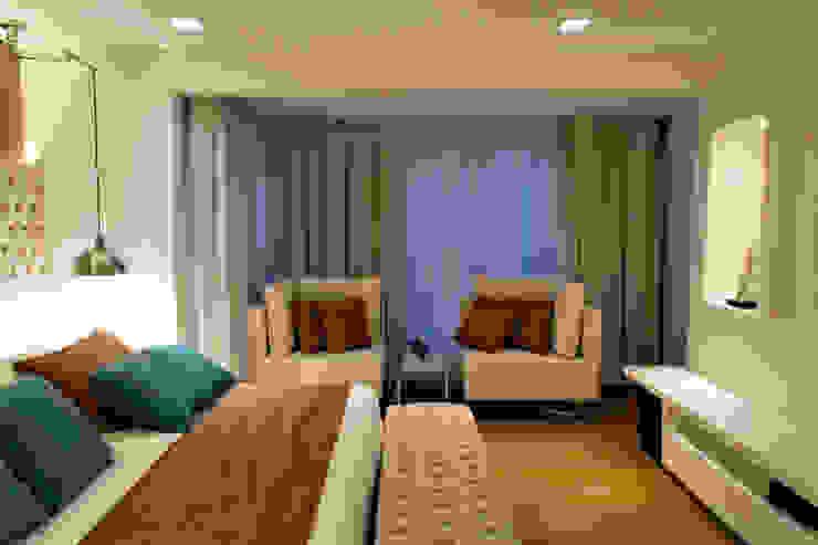 Kamar Tidur Modern Oleh RAWI Arquitetura + Design Modern