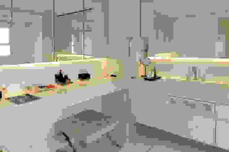 Kamar Mandi Modern Oleh RAWI Arquitetura + Design Modern